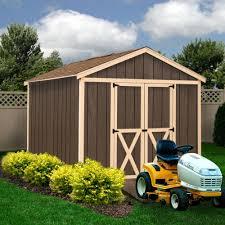 6 X 6 Wood Storage Shed by Amazon Com Best Barns Danbury 8 U0027 X 12 U0027 Wood Shed Kit Patio