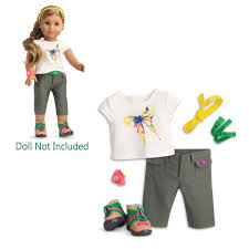 Amazoncom DreamWorld Collections Tomboy 4 Piece Outfit