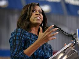 Michelle Obama Empty Chair by Michelle Obama Roils Donald Trump For His Birther Debate Response