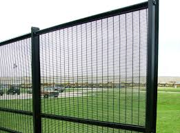 The Drawing Of Anti Climb Fence Installation Including Wireworks Anti Climb High Security Wire Mesh Fencing Ameristar