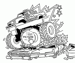 The Smasher Monster Truck Coloring Page For Kids Transportation Zum ... Free Printable Monster Truck Coloring Pages For Kids Pinterest Hot Wheels At Getcoloringscom Trucks Yintanme Monster Truck Coloring Pages For Kids Youtube Max D Page Transportation Beautiful Cool Huge Inspirational Page 61 In Line Drawings With New Super Batman The Sun Flower