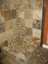 best of river rock look tile river rock tile for shower floor