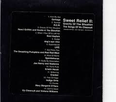 Smashing Pumpkins Rarities And B Sides Cd by Sweet Relief Ii Gravity Of The Situation Spfreaks