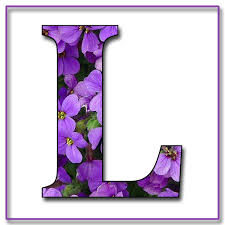 Purple Letters Ls Bing Images Purple Makes My Heart Sing