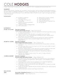 Teachers Resume Objectives Daycare Objective Teaching General Statement Substitute Teacher