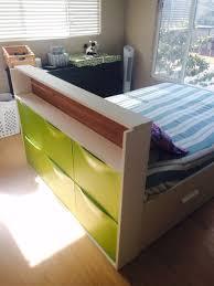 Ikea Mandal Dresser Discontinued by Hackers Help How To Attach Headboard To Espevär Mattress Base