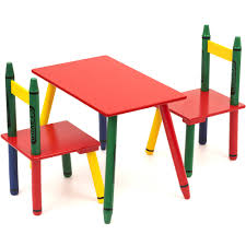 Catchy Collections Of Toddler Desks crayola wooden table and chair set table designs