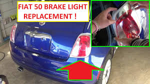 how to replace the light assembly or the brake light rear