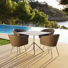 Modern Garden Furniture | SHELL Retro Design Outdoor Dining ... Modern Outdoor Ding Chair Black Fabric Stainless Steel Frame Grosseto Ebay Dectable Setting Patio Fniture Metris Modway Chairs On Sale Eei2683brn Casper Armchair Dualtone Synthetic Rattan Weave Only Only 19830 At 7 Pc Mid Century Teak Set Lara Table And Selecta Sophia Sampulut Eei1739whilgrset Maine Of 2 29230 Contemporary Safavieh Wrangell Stacking Alinum In Hot Item Coffee Stackable Antique Garden Metal Restaurant Rialto