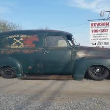 100 1952 Chevy Panel Truck Slammed Ratty Advance Design Panel Truck Vehicles