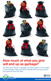 Garbage Bag Christmas Tree