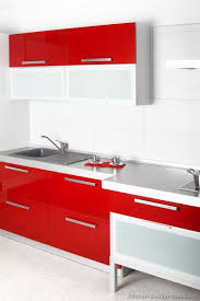 Kitchen Modern Cabinets Colors Kitchen Red And White Kitchen Cabinets Impressive On Look Color