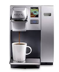 Keurig K155 Office Pro Single Cup Commercial K Pod Coffee Maker Silver