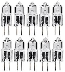10pack 50 watt 50w 12v 12 volt g6 35 bi pin jc type halogen light