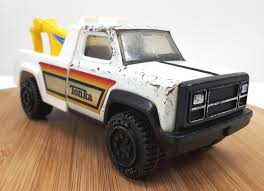 100 Vintage Tonka Truck Tow White Pressed Steel And 50 Similar Items