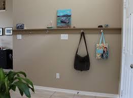 Long Shelves With Hooks