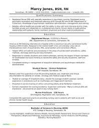 Gallery Of Travel Nurse Resume Examples Testing Sample Resumes Fresh Rn Bsn Awesome