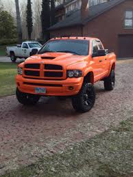 Everything I Want In One Truck: Dodge, Cummins, Lifted, Orange, Only ...