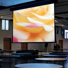 paragon v electric projection screen draper inc