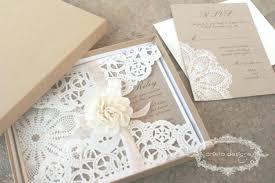 Burlap Wedding Invitation Kits Rustic Designs Diy