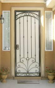 Interior Metal Security Doors • Security Door Ideas