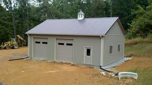 30x40x12 Residential Garage In Bedford, VA (RTW10005) - Superior ... Garage 3 Bedroom Pole Barn House Plans Residential Modern White Off Exterior Wall Of The Kits With Decor Tips Amazing Convertible Porch Grand Victorian Sheds Storage Buildings Garages Yard 58 And Free Diy Building Guides Shed Virginia Superior Horse Barns Best Builders Designs Small We Build Precise Barns Timberline Archives