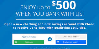 Expired] Chase $500 Checking And Savings Bonus Publicly ... Bank Account Bonuses Promotions October 2019 Chase 500 Coupon For Checking Savings Business Accounts Ink Pferred Referabusiness Chasecom Success Big With Airbnb Experiences Deals We Like Upgrade To Private Client Get 1250 Bonus Targeted Amazoncom 300 Checking200 Thomas Land Magical Christmas Promotional Code Bass Pro How Open A Gobankingrates New Saving Account Coupon E Collegetotalpmiersapphire Capital 200 And Personalbusiness
