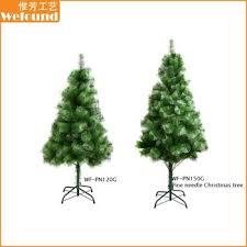 Wf Pn150g Cheap Plastic Artificial Pine Needle Christmas Tree