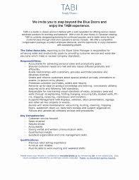 Sample Resume For Sales Associate Cashier Unique 19