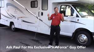 How To Operate A Manual RV Awning - W/Paul