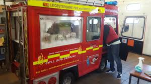 Mini Fire Engine - Leicestershire Fire And Rescue Service