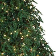 7ft Pre Lit Christmas Trees by Recommended Number Of Ornaments