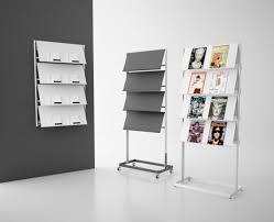 100 Contemporary Magazine Magazine Rack Tertiary Steel FLAP By Stc Studio