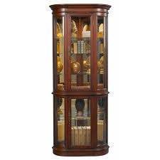 Walmart Corner Curio Cabinets curved front corner curio cabinet walmart