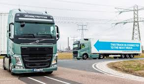 100 Truck Driving Company Platoons Of Autonomous Trucks Took A Road Trip Across Europe