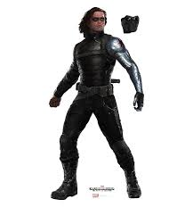 Winter Soldier Bucky PNG Transparent Image