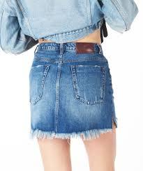 2020 mini high waist denim skirt denim skirts oneteaspoon