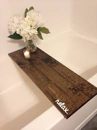best 25 bathtub tray ideas on pinterest bathtub tray wood bath