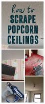 Do Popcorn Ceilings Contain Asbestos by Best 10 Popcorn Ceiling Makeover Ideas On Pinterest Diy Repair