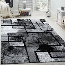 teppich alaya in schwarz grau