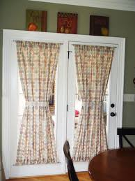 nice back door curtains and best 25 single french door ideas on