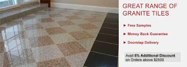 24x24 Black Granite Tile by Durable Granite Tile Flooring L Tilesbay Com Tilesbay Com