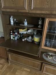 wandschrank schrank wohnzimmer regal bar