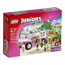 Jual LEGO Juniors Friends - 10727 Emma Ice Cream Truck Set Kid Girl ...
