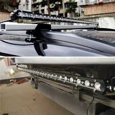 100 Off Road Roof Racks For Trucks 20 Inch 54w Road Led Bar Autos Car Bumper Mounts Led Driving