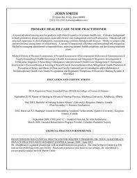 practitioner resume exles exle of resume for nurses