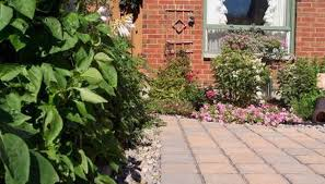 how to lay a garden patio how to lay a brick patio on uneven ground homesteady