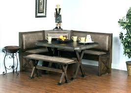 Breakfast Nook Bench Seating Ideas Table Decorating Sets Round Kitchen Dining Room Adorable No