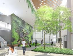 Boston Properties Has Proposed An Indoor Garden At The Site An