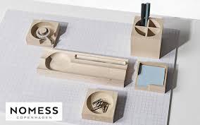 accessoires de bureau design set de bureau fournitures de bureau decofinder
